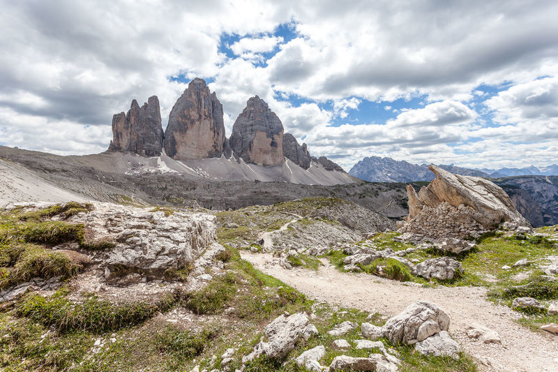Spectacular path at the foots of Tre Cime di Lavaredo, Dolomites, Italy Dolomites Dolomiti Unesco Veneto Adventure Alpine Alps Altitude Beautiful Beauty Blue Climbing Clouds Dolomite Europe High Hiking Italy Landscape Light Mountain Mountains Nature Outdoor Panorama Park Path Peak Pinnacles Range Rock Rocky Scene Scenery Scenic Sky Stone Summer Summit Sunny Top Tourism Travel Tre Cime Di Lavaredo Trekking Vacation View The Great Outdoors - 2019 EyeEm Awards