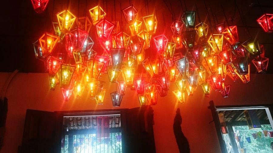 The Magic Mission Celebration Illuminated Multi Colored El Salvador 503SV Ataco Farolitos