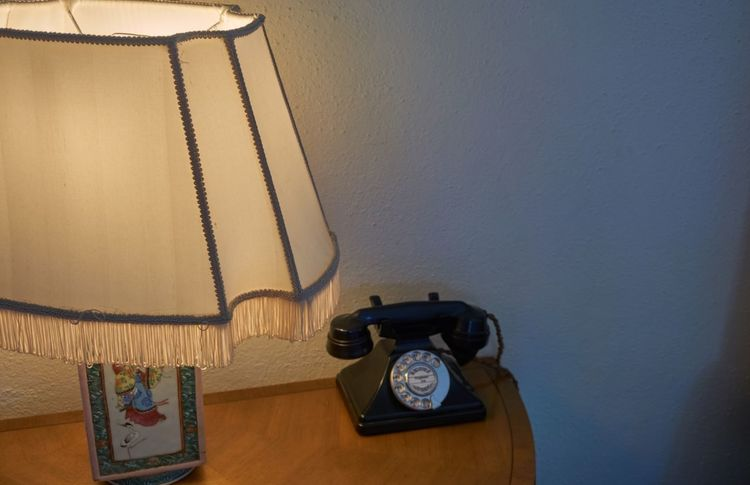 The Photojournalist - 2017 EyeEm Awards Telephone Old-fashioned Landline Phone Telephone Receiver Rotary Phone Communication Connection Table Indoors  Retro Styled Technology Phone Cord Antique Hanging No People Cable Typewriter Day Close-up