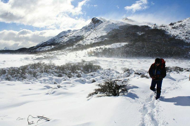 Fitzroy Snow Walk El Chalten Argentina