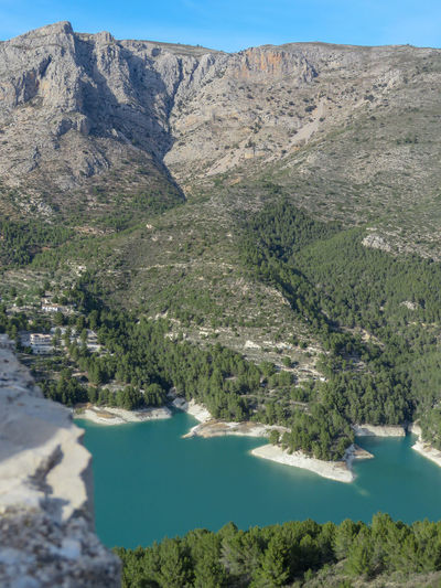 beautiful guadalest Travel Travelling Photography Tourist Attraction  Tranquility Traveler Guadalest Alicante SPAIN Travel Spain Travel Destinations Eyeem Travel Aerial View Tree Mountain Water Agriculture Landscape Plant Sky Cactus Arid Climate Succulent Plant