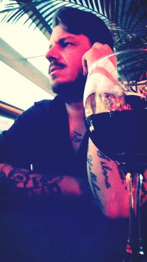 Relaxing Red Wine Me Good Times