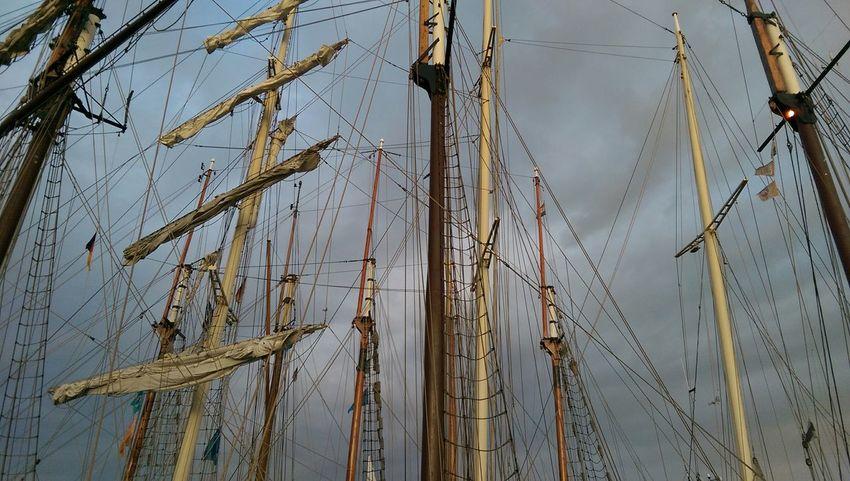 Enjoying The Sights Sailboat Sailboats Kieler Woche