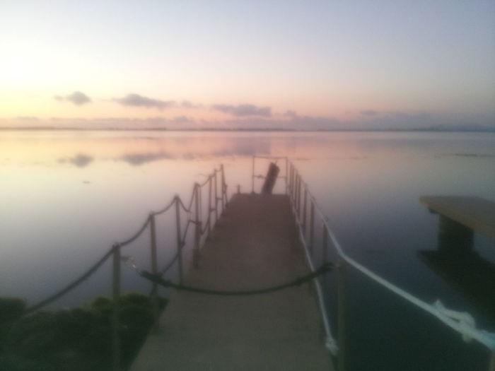 Ponte Lagune Autunno  Nostalgic Landscape Reflection Water Beauty In Nature Laguna di Orbetello nov.2016