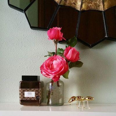 "Y aquí tenéis a ""Anty"" nuestra última adquisición de @zarahome . La verdad es que da mucho juego. Flores Flowers Fleurs Fiori Blumen Rosas Roses Inspiration Anthropologie Ant Hormiga Home Homedecoration Homesweethome Huelenagloria Velasaromáticas Scentedcandles Perfumeshogar Bougieslafrançaise Hall Vigo SPAIN Galifornia Instavigo Lovemyhome"