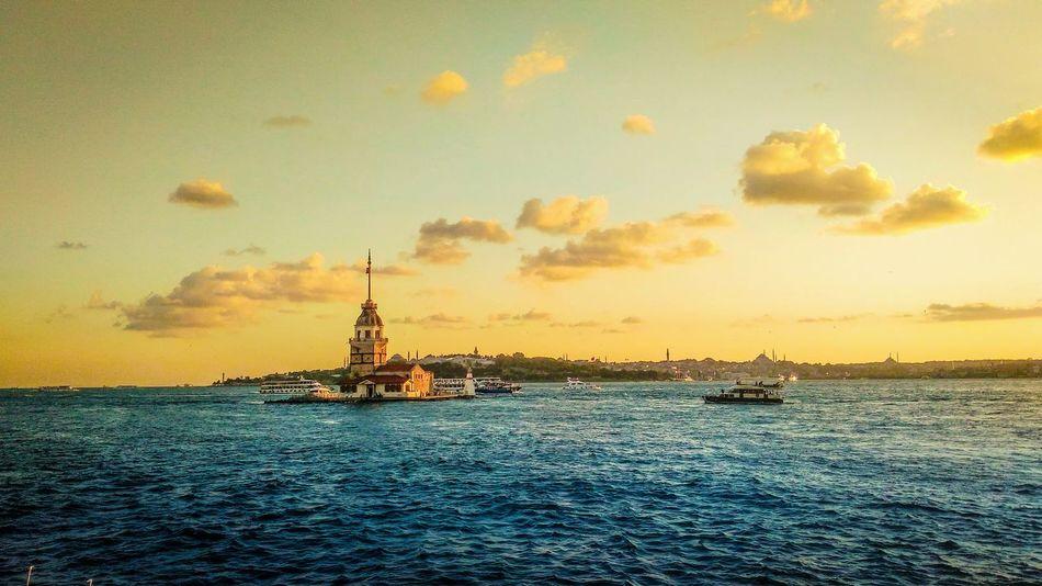 Traveling Beautiful Travel Amazing Turkey Nice Nature Landscape Popular Photos ıstanbul Sunset Sea And Sky