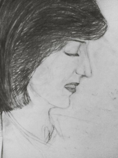 MyDrawing My Sketch Not Finished Yet Princess Diana