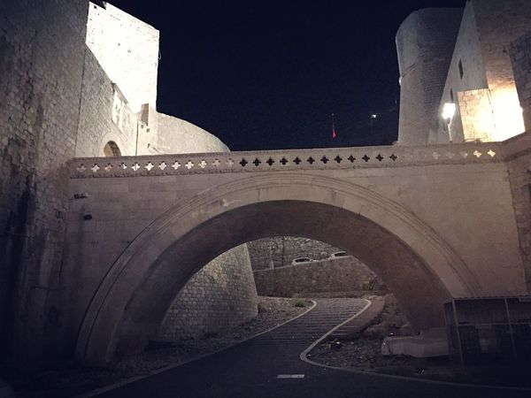 Architecture Built Structure Building Exterior Arch No People Outdoors Night Dubrovnik King's Landing City