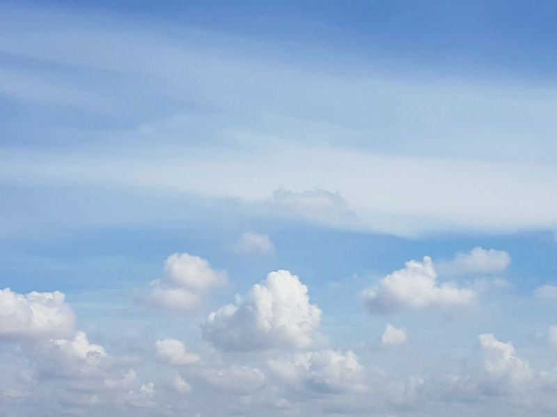 Cloud - Sky Sky Blue Heaven Nature Cloudscape Backgrounds Tranquility Beauty In Nature Scenics No People Spirituality Outdoors Day