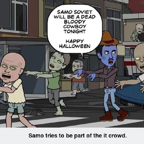 Happy Halloween Amman Jordan Jo Travel SamoSoviet Halloween
