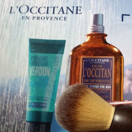 Who's a big boy with facial hair? Brushie Brushie! Loccitane