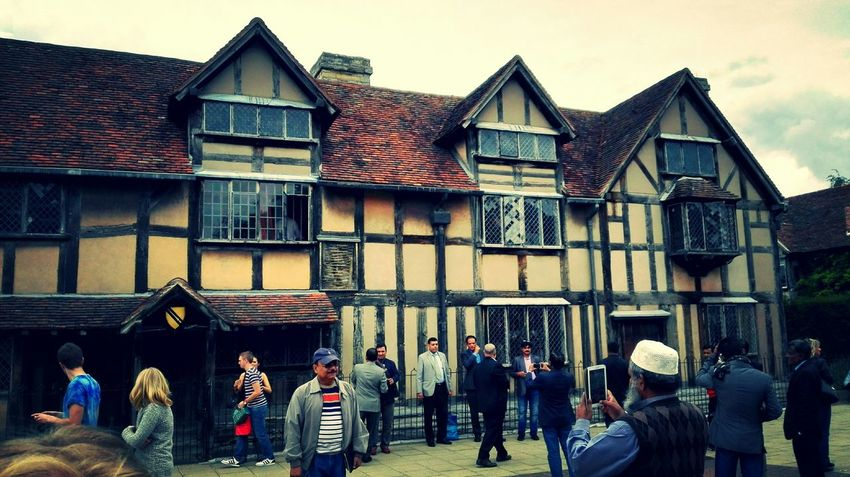 Stratford Stratford-upon-Avon England William Shakespeare Birthplace Old House Love It
