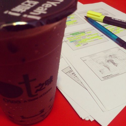 Tmr is THE DAY +.+ Burn Midnight Oil Sociology final exam give me luck !