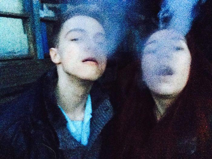 Friends Smoke Smoking Smoky