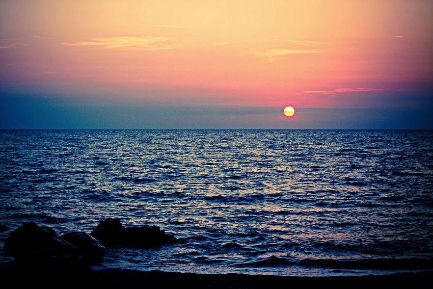 Sea And Sky Sun Eye Em Best Shots Mare