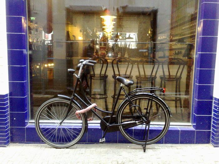 Amsterdam Bicycle Bike Hollandbike Netherlands Park Parked Parked Cars Transportation Urban