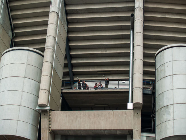 Architecture EyeEm Best Shots EyeEmNewHere Football Geometric Architecture Santiago Bernabéu Stadium Sport In The City Stadium Teamwork Urban Lifestyle Adult Alloy Architectural Column Architectural Feature Architecture Building Exterior Built Structure Day Factory First Eyeem Photo Geometric Abstraction Group Of People Industry Lifestyles Low Angle View Men Metal Outdoors People Pipe - Tube Railing Real People Santiago Bernabeu Silver Colored Sport Sport Building Staircase Steel Steps And Staircases Still Life Team Team Sport Women