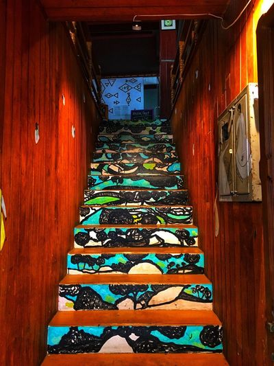 Kochi❤️❤️ Steps And Staircases Door Architecture No People Day Indoors  Close-up