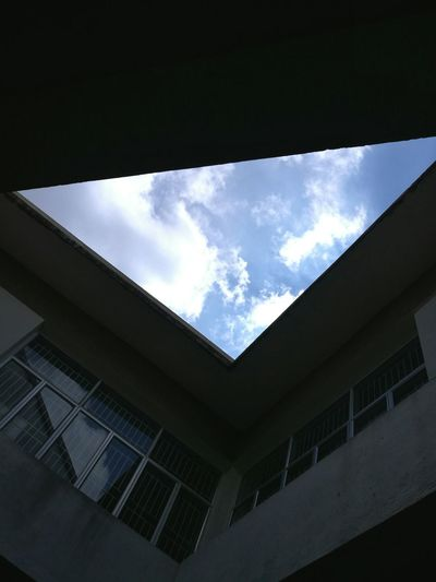 Cloud - Sky Blue Sky Cloudscape Innovation No People Still Life Silhouette Adapted To The City Eyeem Market Architecture