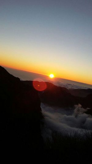 Sunset Pico Do Arieiro Madeira Pico Do Arieiro Laurisilva Madeira Island Nature Sky Scenics Blue Sky Gorgeous Day Beauty In Nature Nature At Its Finest Cloud - Sky Landscape Outdoors Mountain No People Night Milky Way Astronomy Galaxy