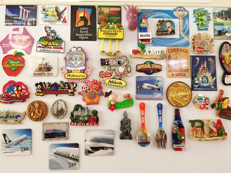Check This Out IPS2016Stilllife Hello World Fridge Magnets a fridge that tells your travel history. Enjoying Life Taking Photos Eye4photography  Pattern Everything In Its Place