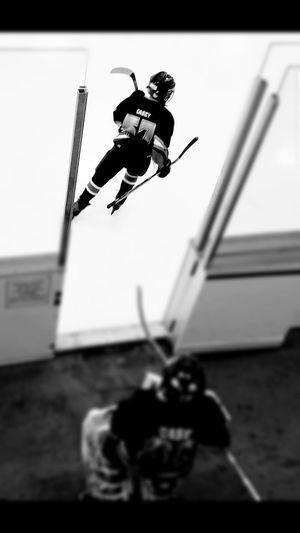 EyeEm Selects Hockey Hockeylife Black & White Full Length Ice Hockey
