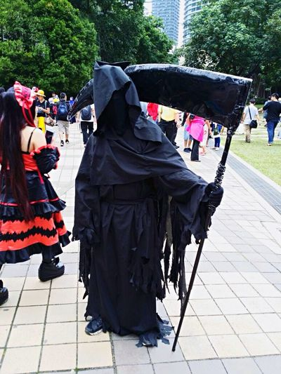 Grim Reaper  Cosplay at Comicfiesta2014 ComicFiesta Anime Suria KLCC Klcc Kuala Lumpur Malaysia
