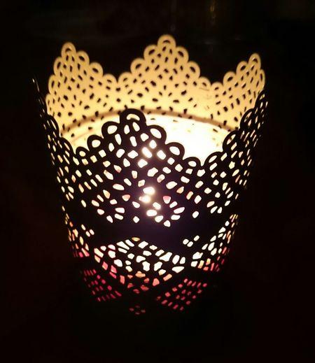 Candle Dark Light IKEA Pretty Beautiful Love It