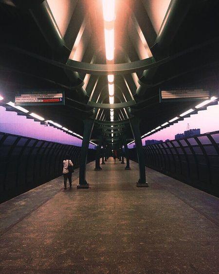 Evening station. Evening City Subway Station Sunset First Eyeem Photo