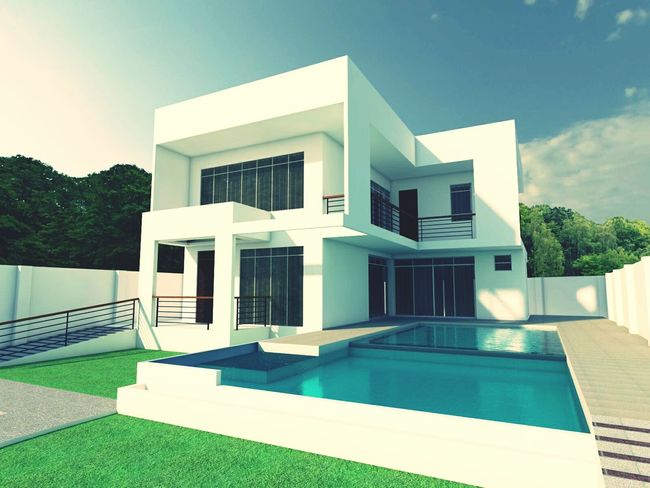 My New Project Modern Architecture Contemporary House