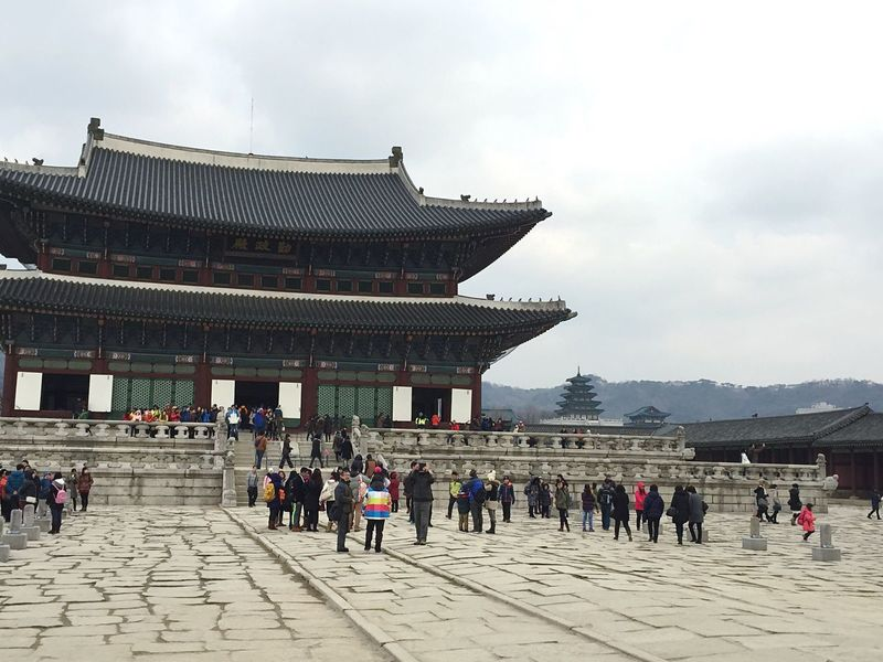 Winter in Seoul, Korea Seeing The Sights