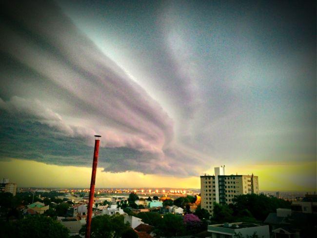 Porto Alegre Storm Clouds Tempestade Temporal Storm