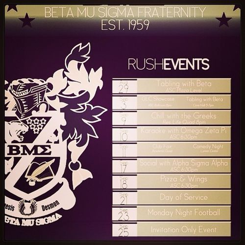 Betamusigma Bmsfraternity Rushevents 2013 honor respect tradition community tradition brother dontjustdoitdoitright