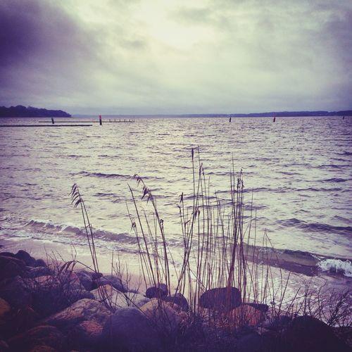 ?❄️❤️ Fresh Air Life Is Better At The Beach Meer Beach Fernweh Snow Day ❄ Walking Around Life Is A Beach