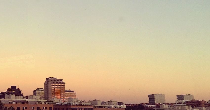 Madrid Sky Skyline