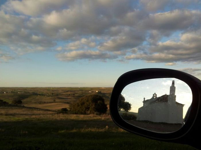 Mirror in a photo! Alentejo Portugaloteuolhar Clouds And Sky