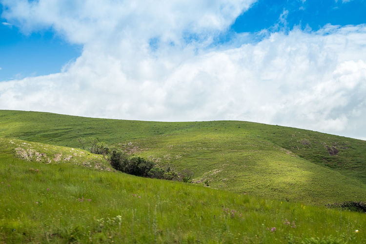 Brazil National Park Beauty In Nature Canastra Cloud - Sky Day Environment Field Grass Green Color Hill Horizon Over Land Land Landscape Nature No People Non-urban Scene Outdoors Plain Plant Rolling Landscape Scenics - Nature Serra Sky Tranquil Scene Tranquility