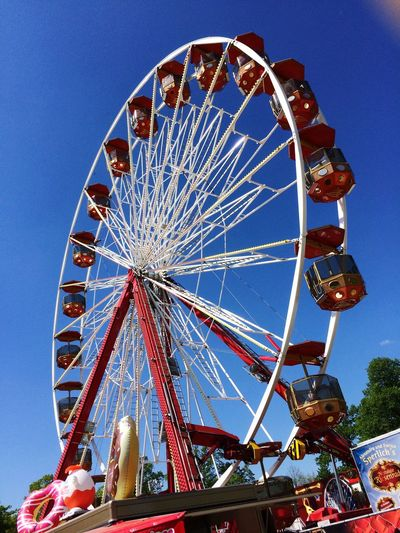 Riesenrad Ferris Wheel Fun Aschersleben Gildefest Nice