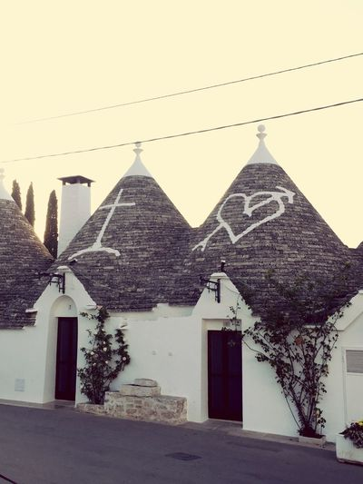 Building Exterior Architecture No People Built Structure Trulli Trullilovers Love
