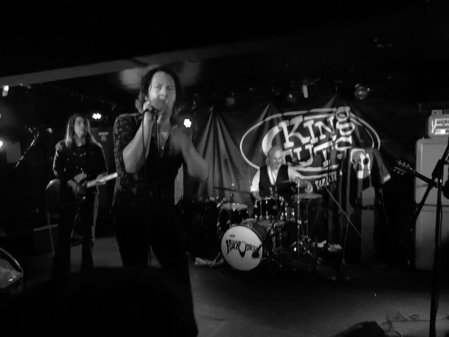 Thee Hypnotics 5 April 2018 Black And White P10 Plus Photography Awesome Men Nightlife Arts Culture And Entertainment Music Musician Popular Music Concert Rock Group Rock Musician Drum Kit Drummer Rock Music