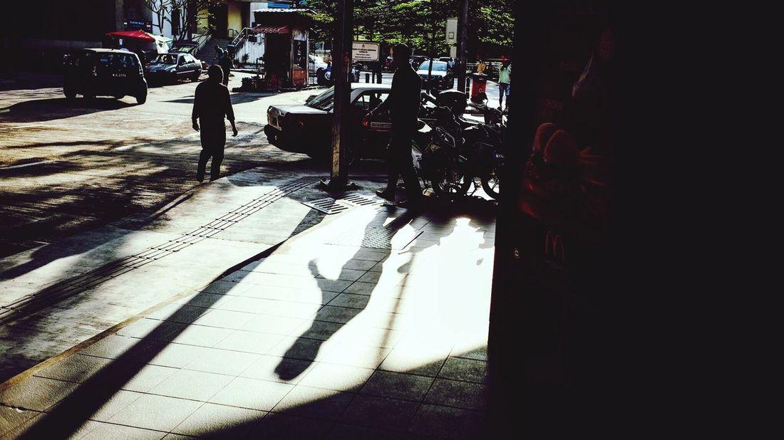 Taken by Kamal Ibrahim Darkness And Light Shadow Kuala Lumpur