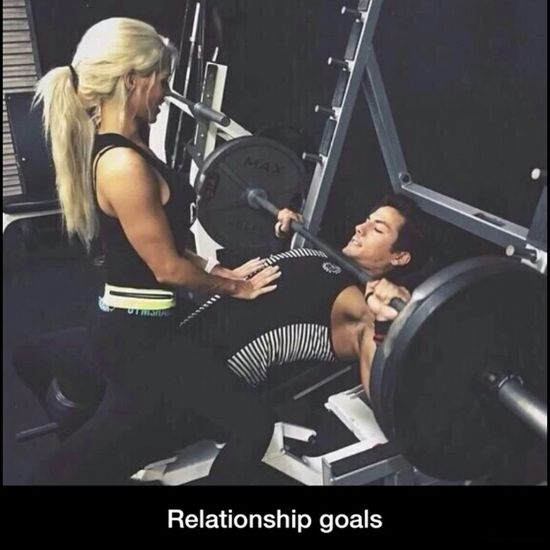 Relationshipgoals Gym Buddies I Want YASS