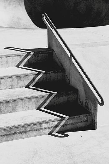 Steps Staircase Steps And Staircases No People Day Outdoors White Black