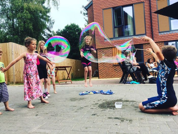 Children playing with a bubble making loop in rural Surrey. Kids Kids Being Kids Kidsphotography Kids Playing Kids Photography Bubble Bubbles Bubbles... Bubbles...Bubbles.... Surrey England England🇬🇧