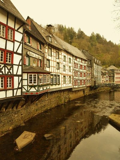 Monschau Monschau Eifel Germany Eifel Germany Eifel Romantic Romantic❤ Romantic Place Romantico Romântico♥♥ Romantisch Old Germany Old German House EyeEmBestPics EyeEmbestshots Travel Destinations Fachwerk Building Exterior Architecture Built Structure Water Fachwerkhaus Fachwerkhäuser Fachwerkfassade Old Buildings Old Town