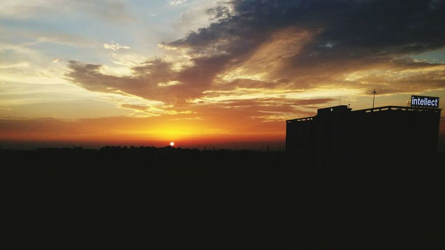 One more beautiful sunset.. I cant resist from capturing these.. Indus Anantya Sunset