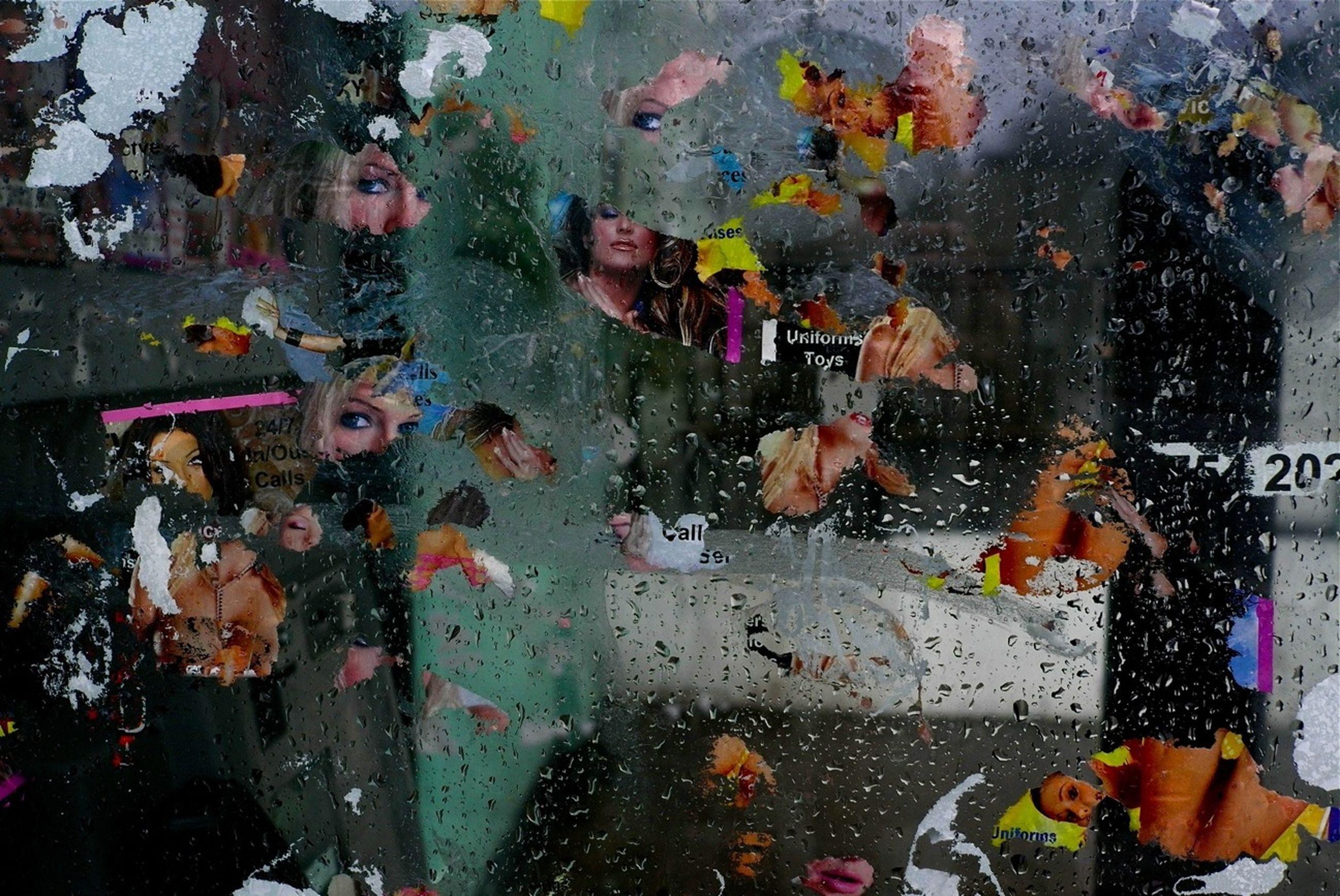wet, rain, drop, season, indoors, built structure, full frame, weather, land vehicle, transportation, car, backgrounds, architecture, mode of transport, window, street, building exterior, raindrop, monsoon, close-up