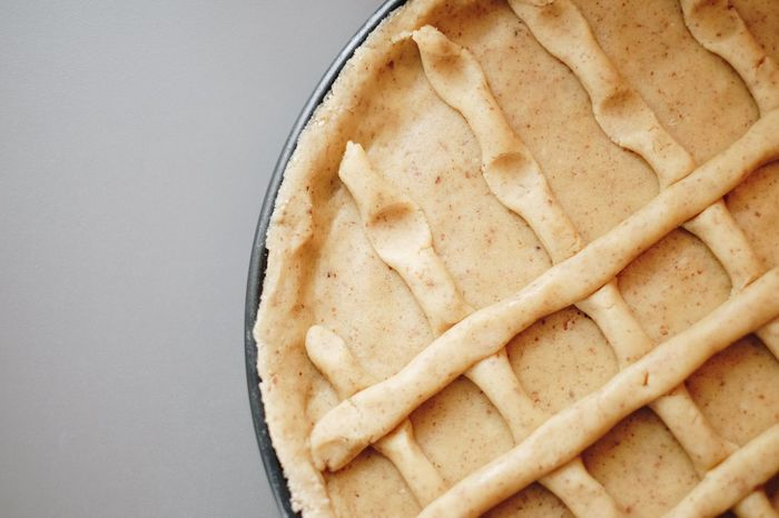 Sweet Food Cake Dessert Making A Cake Food Food And Drink Baked Baking Pan Apple Pie Directly Above No People Freshness Indoors  Homemade Sweet Pie