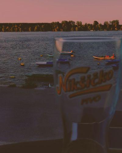 Sunset Water Dusk Reflection Lake Sport Sky Nautical Vessel Outdoors People Nature One Person Adult Pedal Day Sportsman EyeEmNewHere Niksicko ZEMUN, Belgrade, Serbija, Zemun Zemun Serbia,Danubius Lovely River