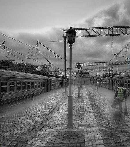 Day Outdoors Sky Transportation Tranport Railroad Station Railroad Station Platform Railroadphotography